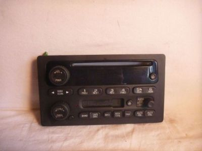 Buy 03-05 GM Chevrolet GMC Tahoe Yukon Radio Cassette Cd Face Plate 15104156 FP2170 motorcycle in Williamson, Georgia, United States