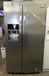 Frigidaire Gallery 26cu.ft Side by Side Refrigerator in Stainless Steel