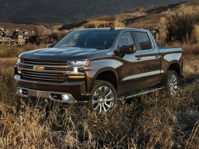 2019 Chevrolet Silverado 1500 Custom (Shadow Gray Metallic)