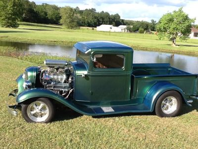 1934 ford truck all steel except the rear fenders & gril