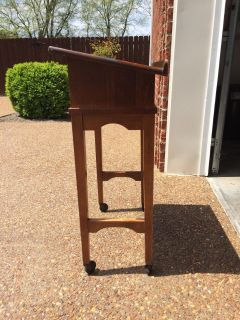 Antique/Vintage Rolling Book Stand