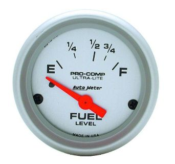 "Buy Auto Meter 4318 Ultra Lite 2 1/16"" Electric Fuel Level Gauge motorcycle in Greenville, Wisconsin, US, for US $64.97"