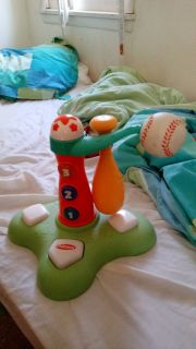 Good condition Toddler fisher price baseball toy
