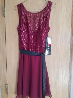 New with Tags burgundy dress