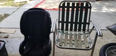 Free booster seat and outdoor chair