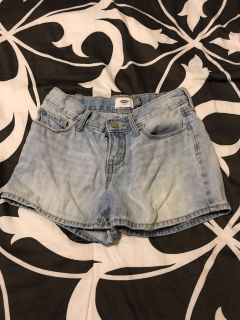 Old Navy light color jean shorts