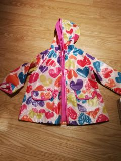 Carters 3T lined raincoat