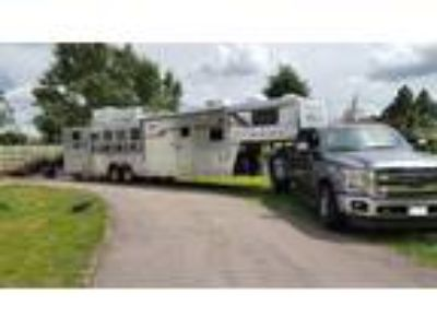 Unique opportunity to purchase a 4 Star 4 horse trailer