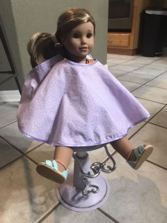 Hair dressing chair for American Girl or My Generation Doll