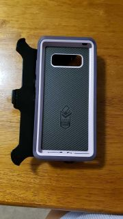 Otter box with clip for Samsung Galaxy Note 8 like new