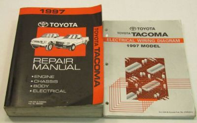 Buy 1997 Toyota Tacoma OEM Service Repair Shop Manual W/ Wiring Diagrams Book SET motorcycle in Bethpage, Tennessee, United States
