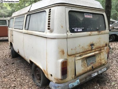 1972 Bay Window Westfalia barn find
