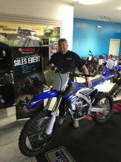 2017 Yamaha YZ250F Motocross Motorcycles Ebensburg, PA