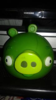 Angry Birds Pig Head Hard Plastic Toy (Commonwealth Toy & Noveity Co. 2012)