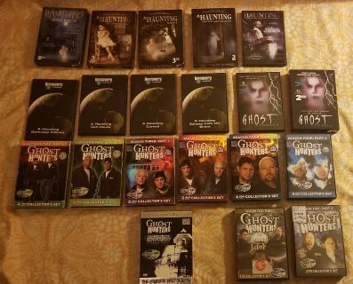Lot # 20 Ghost T.V Series DVD Volumes Collection's