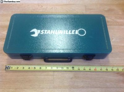 Stahlwille Metal Tool Box like new
