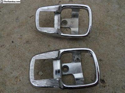 Volkswagen Beetle Chrome Door Handle Collars
