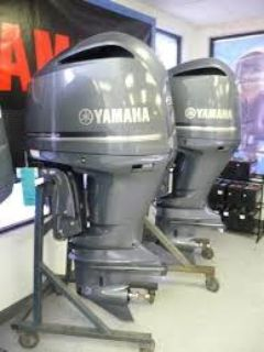Used Yamaha 300HP 4 Stroke Outboard Motor Engine