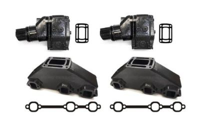 Purchase OMC/Volvo Penta V6 4.3 Exhaust Manifold Riser/Elbow Kit 4.3L 3857656 3863061 motorcycle in Worcester, Massachusetts, United States, for US $999.99