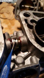 Weber Throttle Shaft Stainless Roll Pins