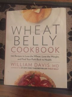 WHEAT BELLY HARDCOVER COOKBOOK