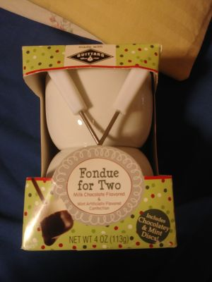 Fondue for Two, cute!