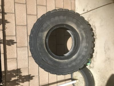 Large Exercise Tire