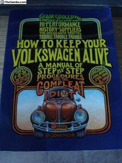 John Muir VW repair Book