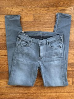COH Citizens of Humanity Avedon gray skinny jeans 30