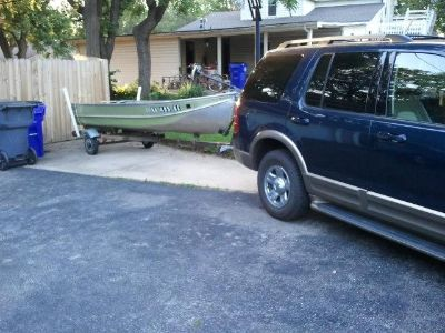14ft jon boat with trailer