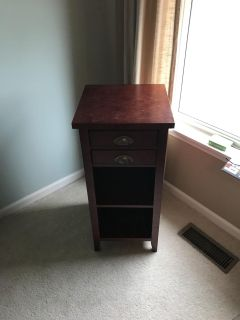Tall nightstand or side table