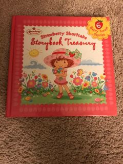 Vintage strawberry shortcake story book