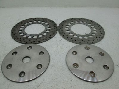 Sell 1999-2003 ROAD STAR 1600 05-10 ROAD STAR 1700 SILVERADO FRONT BRAKE ROTORS 4.90 motorcycle in Fort Worth, Texas, United States, for US $149.95