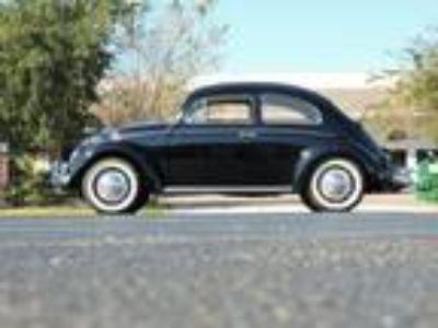 1958 Volkswagen Beetle Sedan 1.2L Flat 4 Cylinder