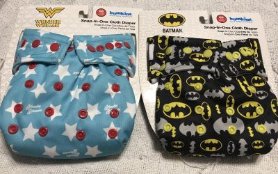 2 NWT Bumkins snap-in-one cloth diapers