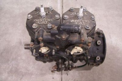 Buy ARCTIC CAT SNOWMOBILE 1994 ZR 440 SHORT BLOCK ENGINE 0662-099 motorcycle in Kaukauna, Wisconsin, United States, for US $500.00