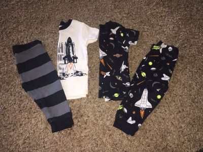 Baby Boy 4 Piece Pajama Set