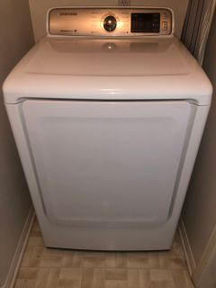 Samsung he washer and dryer set