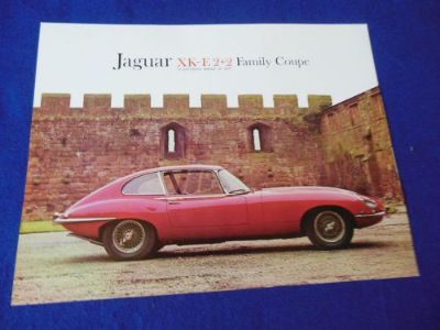 Find NOS Jaguar XKE 2+2 Family Coupe Single Page Brochure motorcycle in North Haven, Connecticut, United States