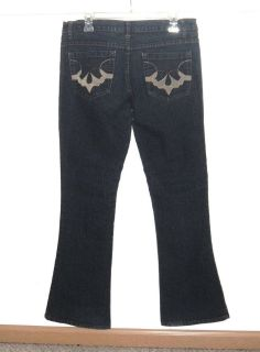 Juniors 13/14 Xtasy Boot Cut Denim Jeans Womens 13/14 Juniors X-Tasy