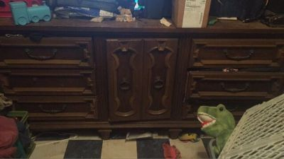 Dresser & shelf for sale
