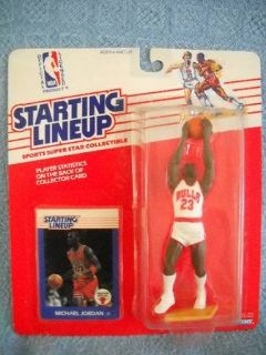 Kenner S. L Michael Jordan 1988 1ST Starting Lineup NM + to Mint