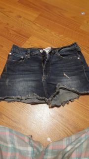 Size 8 Pink High waisted shorts