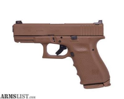 For Sale: GLOCK G19 VICKERS RTF2 9MM