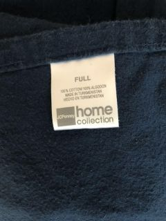 Flannel sheets EUC Queen size