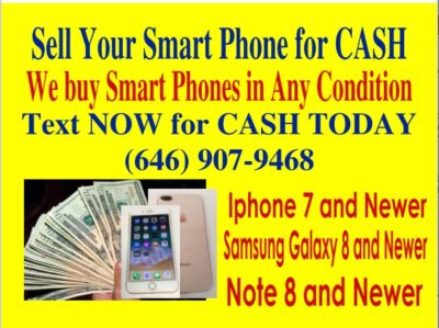We Buy Smart Phones For Cash