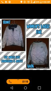 North Face Coat Womens Large