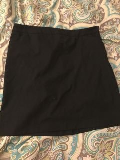 New York and co stretch dress skirt -14 blk