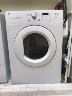 LG electric clothes dryer