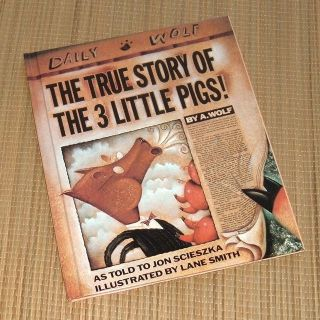 Vintage 1991 The True Story of the Three Little PigsHard Cover Book Age Range 5 - 8